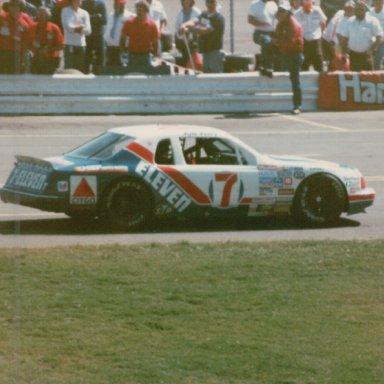 Miller Beer 500, Charlotte Motor Speedway, October 6, 1985