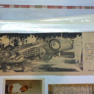 Eddie Royster wreck at Richmond 1969