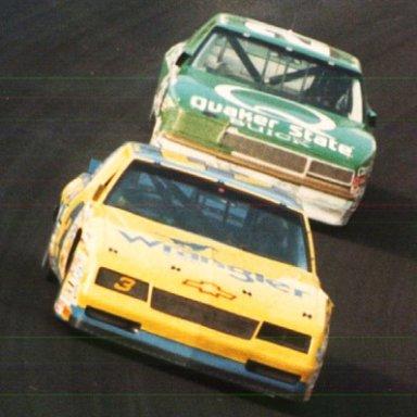 Earnhardt & Brett Bodine
