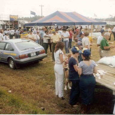 Richmond Wrangler Pig Pickin' 1982