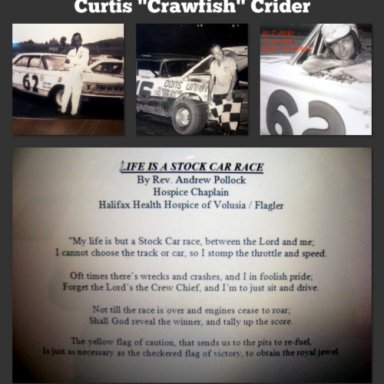 memorial for curtis