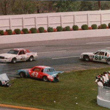 Virginia 500, Martinsville Speedway, April 26, 1981