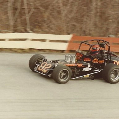 Lennie Waldo at Wincheste 1981