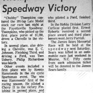 Fayetteville Speedway