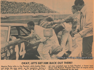 1966 Peach Blossom 500 - Jim Paschal