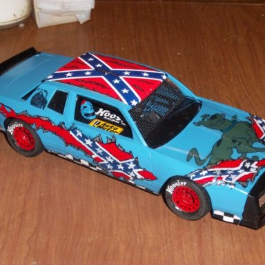 Model of Rebel Phantom Race Car