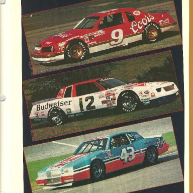 1984 Winston Cup cars 001