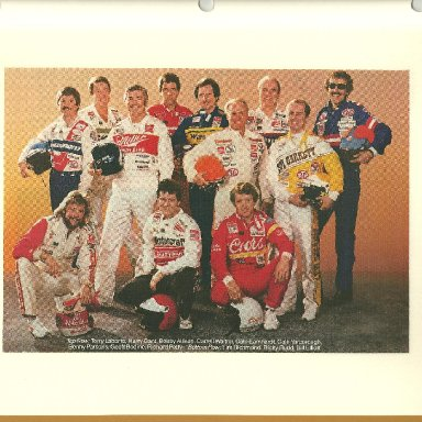 Winston Cup drivers