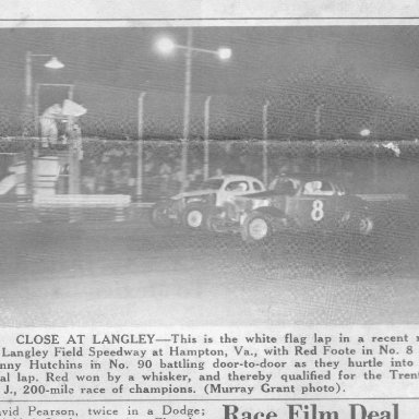Red Foote # 8 Langley Speedway