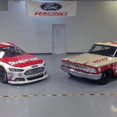 2013 No. 21 & 1963 No. 21-Wood Bros Cars