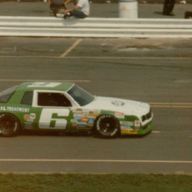 Charlotte Motor Speedway, Saturday, May 24, 1986