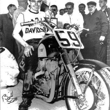 Beach Racing 59 Bill Scott