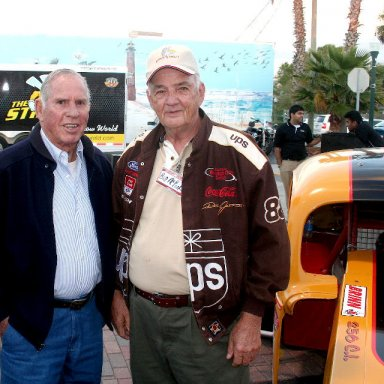 Pearson and McPeek at Back to The Roots Daytona Celebration