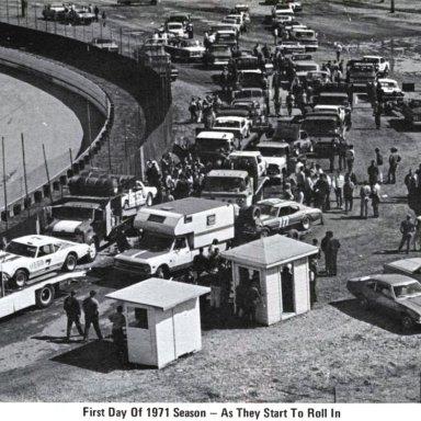 # 7 Don Gregory # 10 Bill Rausch Heidelberg Raceway 1971