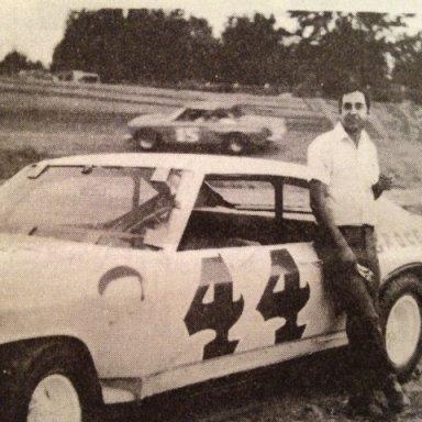 Summerville SC Speedway 44 JB Burbage 1977