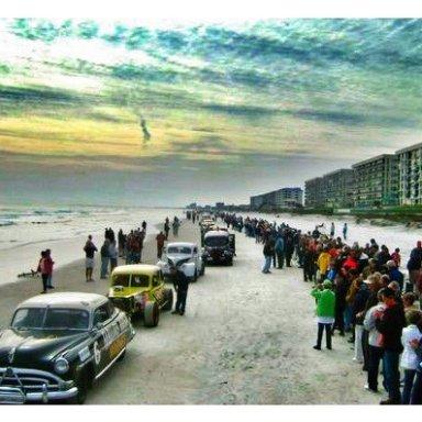 Racing Legends Beach/Road Parade