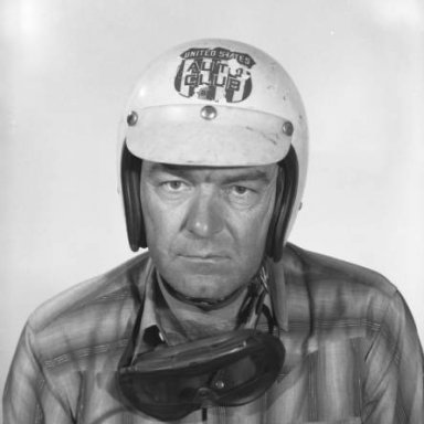 Curtis Turner Indianapolis Head Shot 1963