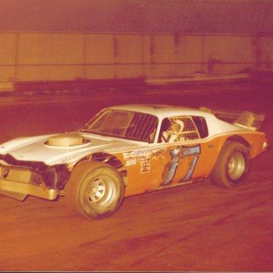 Bill Johnson in Robert Gee's Car