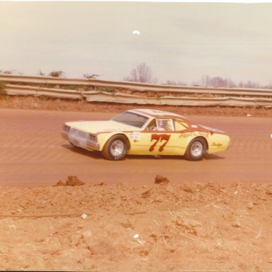 Bill Johnson 1976 at Concord Speedway