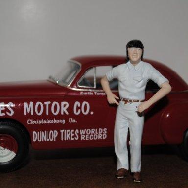 CURTIS TURNER -EANES MOTORS 1950 OLDS