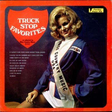 Various-Country-Truck-Stop-Favorites Record Album