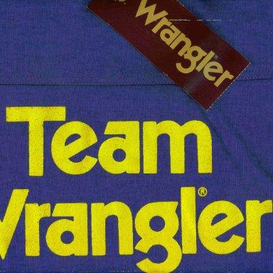 1982 Team Wrangler Shirt Back