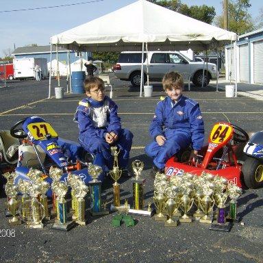 Sargent Racing 2008 Trophy's