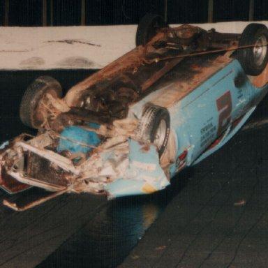 Blue 2 wreck 1993