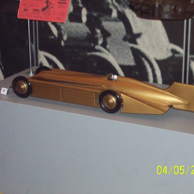Sir Henry Segrave Golden Arrow Car Model 1929