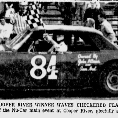 """""""Sammy"""" Ard - Cooper River - 1968"""