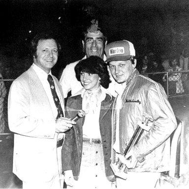 Butch Lindley and Mr. Lattuca