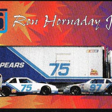Ron Hornaday (1994) - Version 1 Postcard