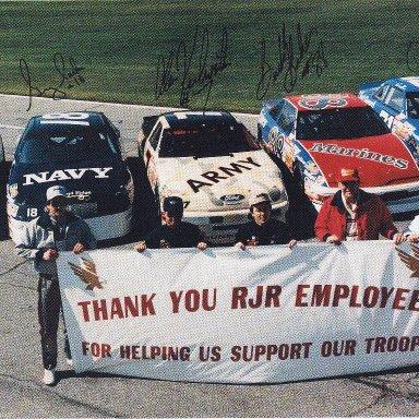 Armed Forces Cars - 1991 Daytona 500