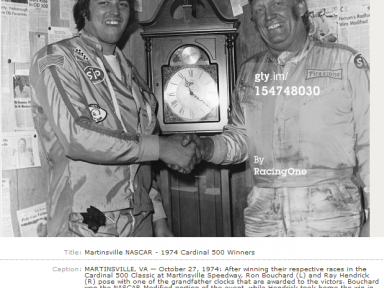 Ronnie & Ray Share Martinsville Wins - 1974