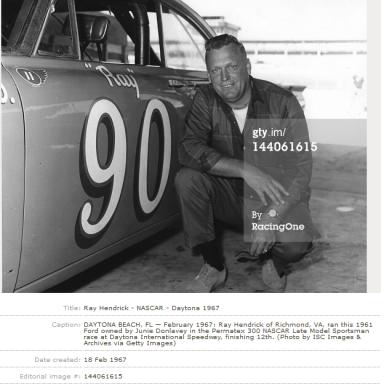 Ray Drives for Rival - Daytona 1967