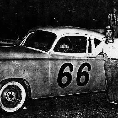 Charles ( Charlie ) Renshaw Jacksonville Florida Speedway Park abt 1957