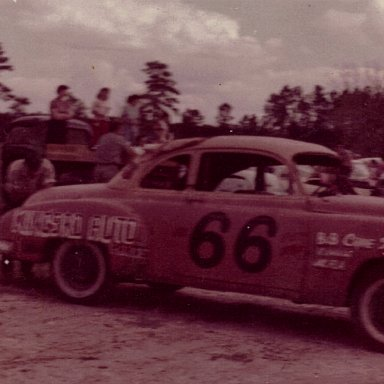 Charles ( Charlie ) Renshaw #66 Speedway Park Jax, Fla   abt 1957