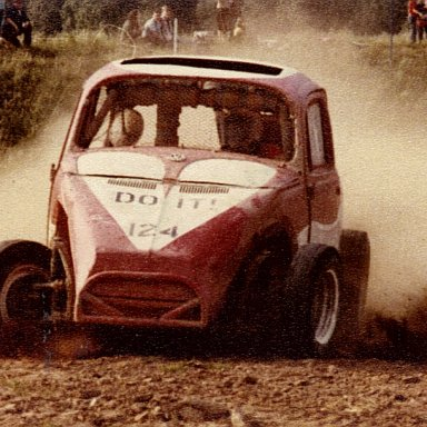 Charles ( Chuck ) Renshaw Jr  # 124 VW racer in W. Germany 1977
