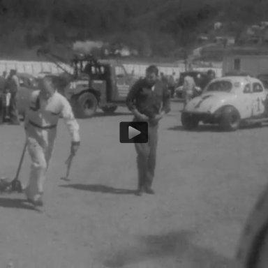 Starkey Speedway pits 1963