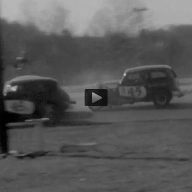 The Mason Garage stable at Starkey Speedway 1963