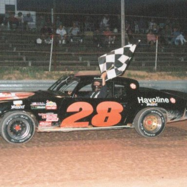 Francis Sullivan  at Cochran Speedway  about 1995