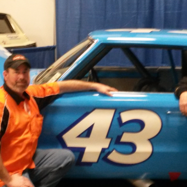 ME AND POP WITH RICHARD'S 67 PLYMOUTH