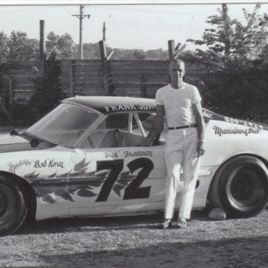 Dick Freeman in Bob Korn # 72 car