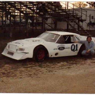 Dave Brandenburg in Bob Korn car