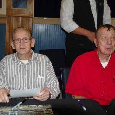 CHICK HALE AND BOB KORN DAYTON  SPEEDWAY HALL OF FAME