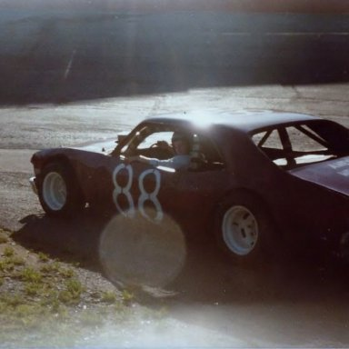 Kingsport Speedway 1981 test