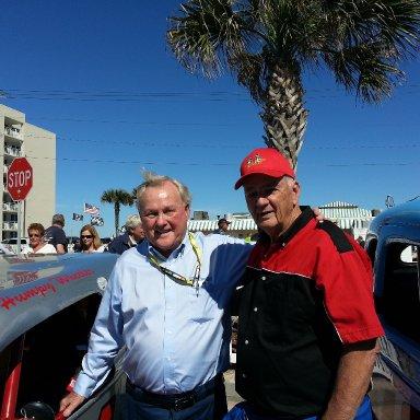 Beach Re-enactment - 2/15/14 - Humpy Wheeler & Bill McPeek
