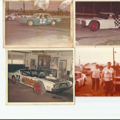Upper right pic is Larry Moore in Bob Korn car