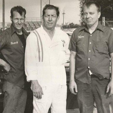 Left to Right Frank Brock, Dick Dunlevy Sr, Bobby Korn