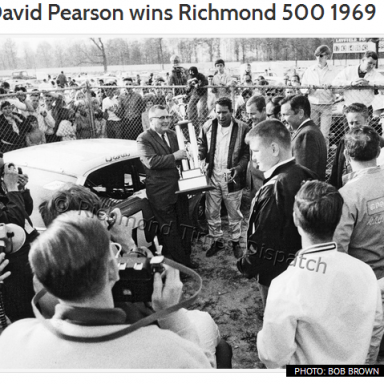 6th Silver Fox Richmond Win - 1969